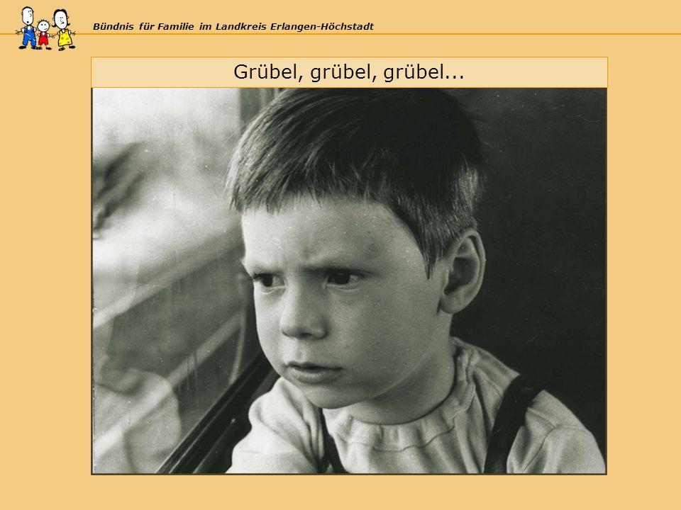 Bündnis für Familie im Landkreis Erlangen-Höchstadt Grübel, grübel, grübel...