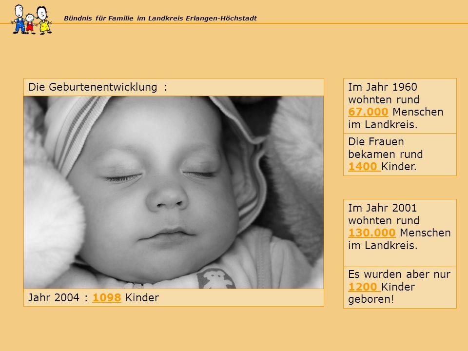 Bündnis für Familie im Landkreis Erlangen-Höchstadt Die Frauen bekamen rund 1400 Kinder.