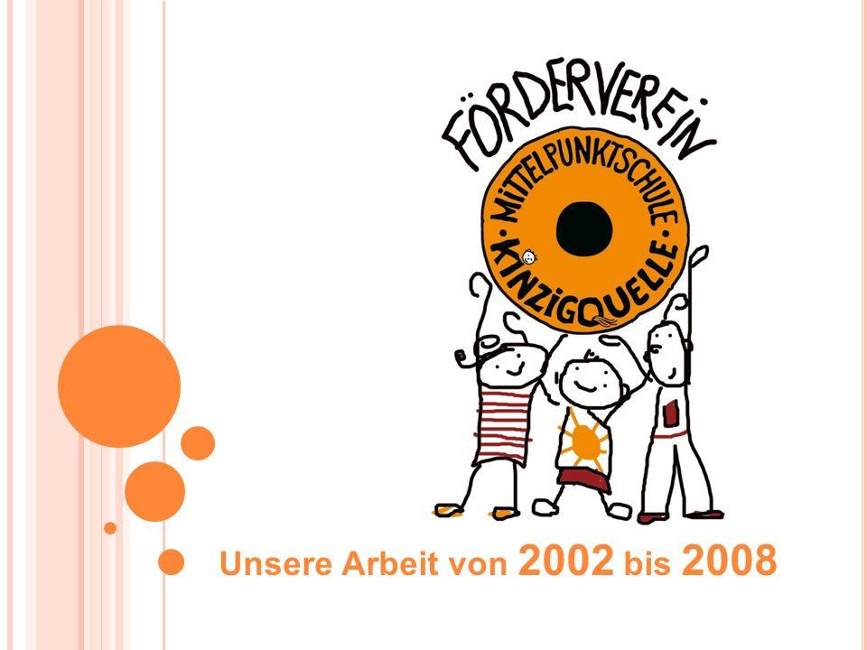 Unsere Arbeit von 2002 bis 2008