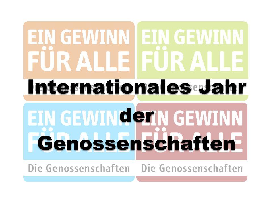 Internationales Jahr derGenossenschaften
