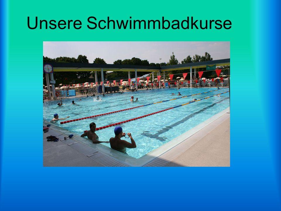 Unsere Schwimmbadkurse