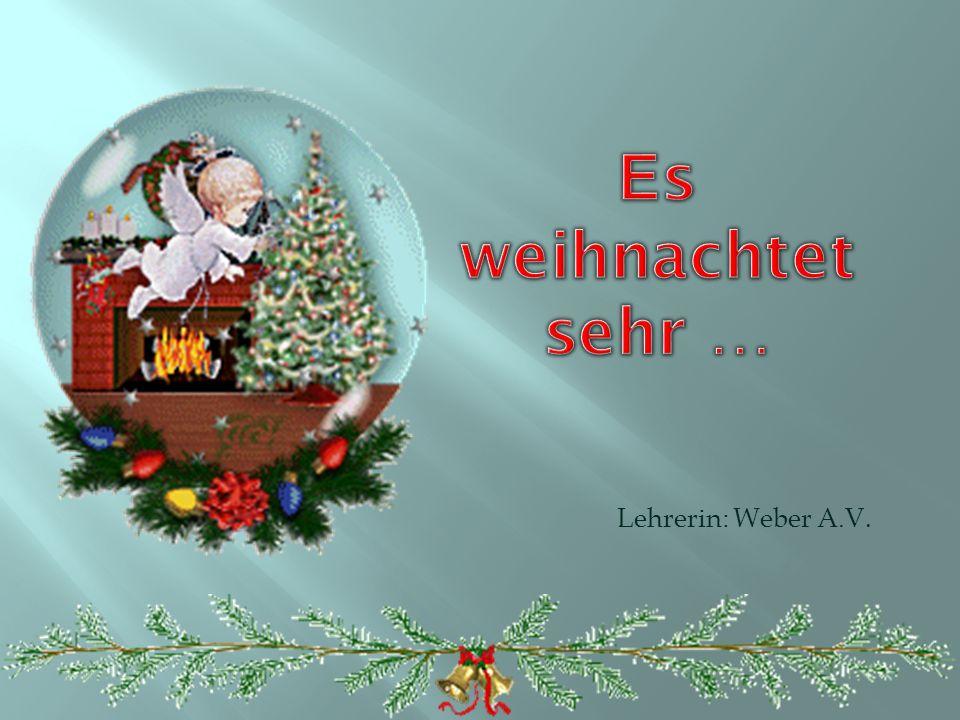 Lehrerin: Weber A.V.