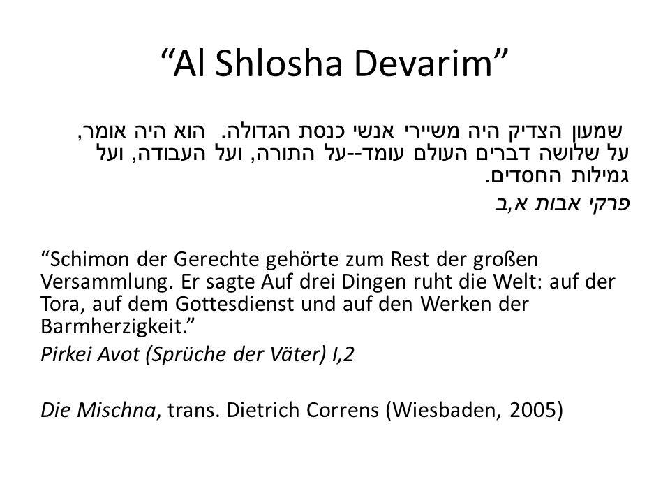 Rabbinic Text Notation m = Mischna b = Babylonian Talmud y = Jerusalem/Palestinian Talmud t = Tosefta Beispiele: mSan 7.2 = Mischna, Tractate Sanhedrin bYoma 38a = Babylonian Talmud, Tractate Yoma tBer = Tosefta Berkahot
