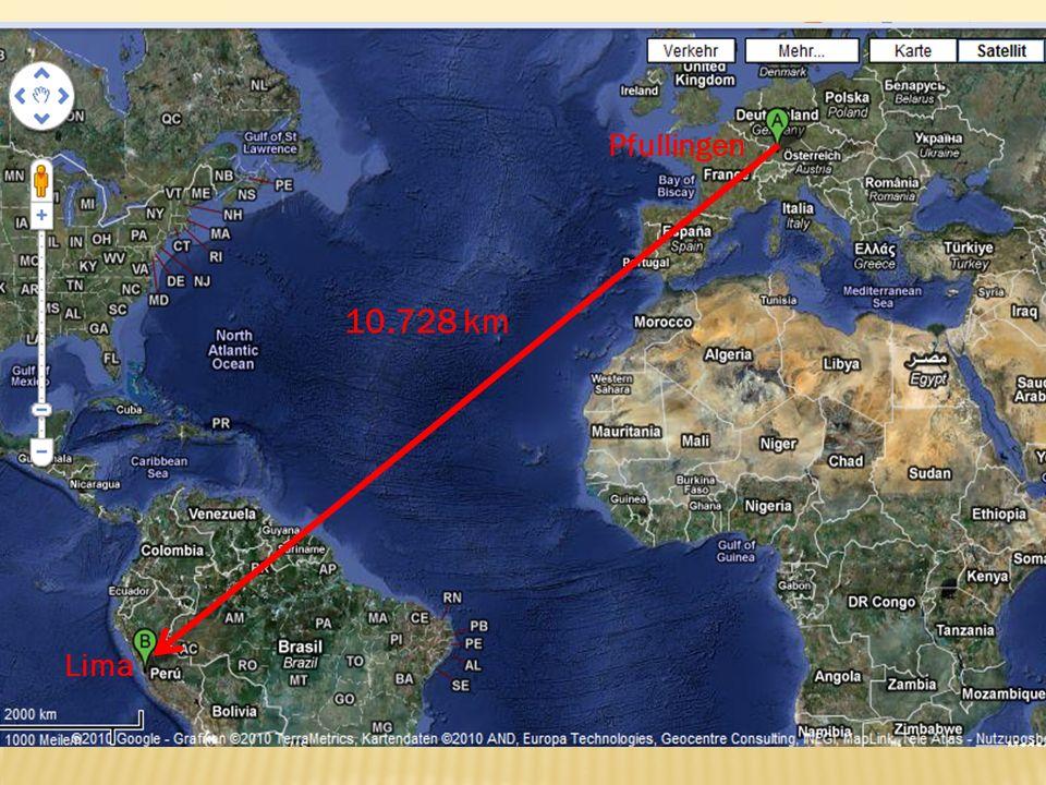 10.728 km Pfullingen Lima