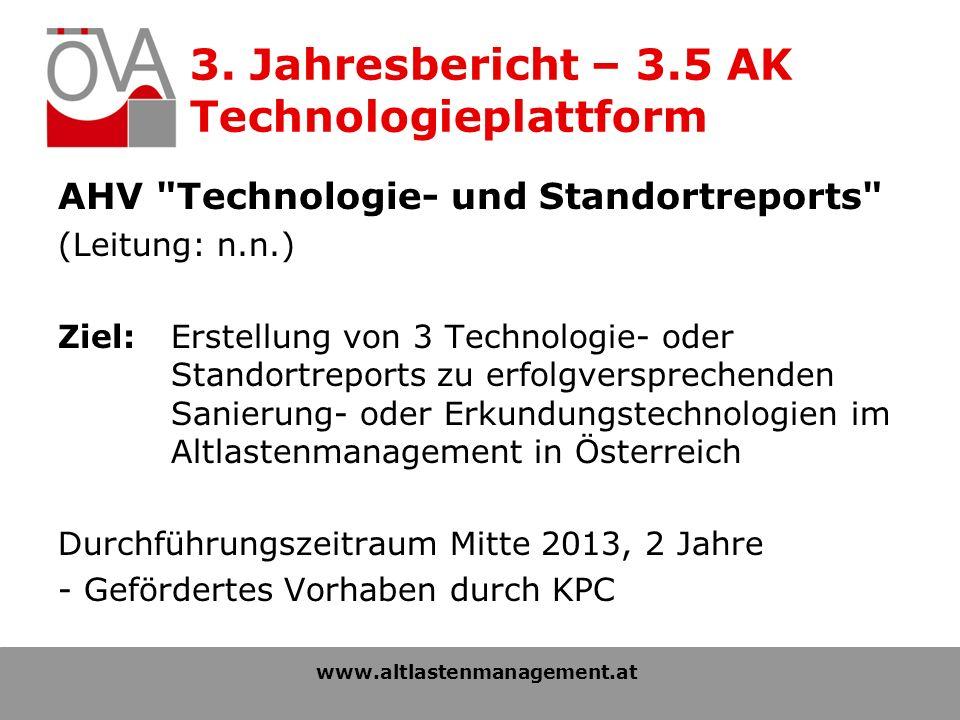 3. Jahresbericht – 3.5 AK Technologieplattform AHV