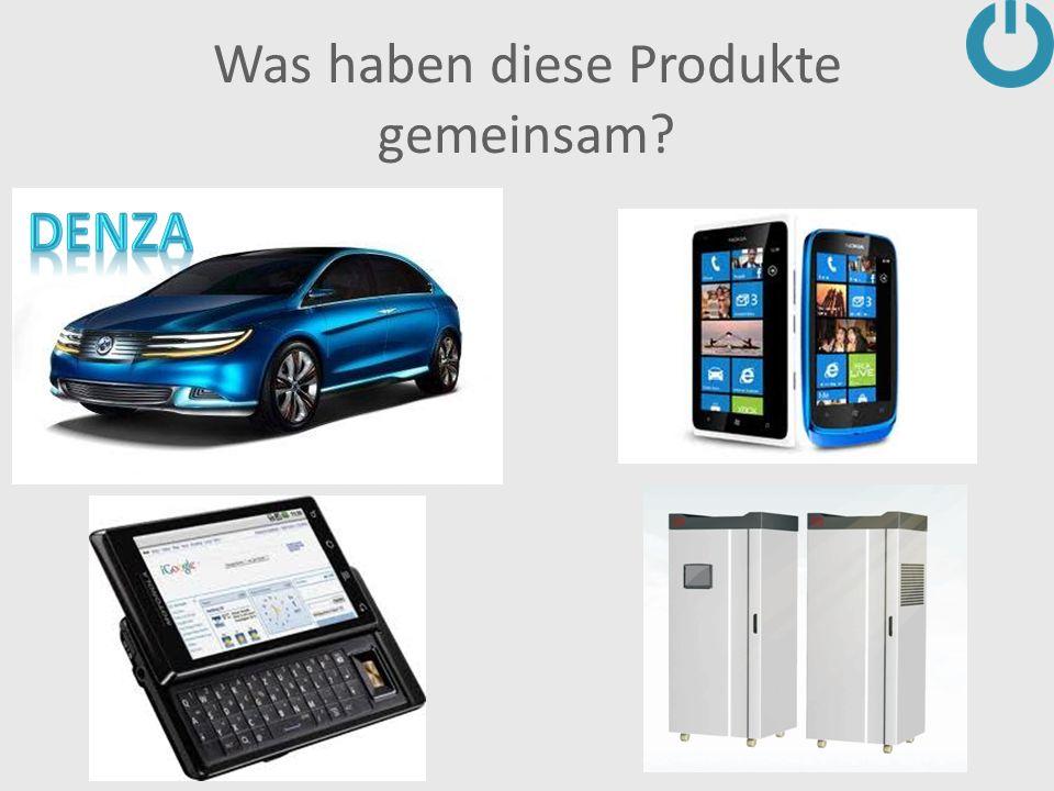 Was haben diese Produkte gemeinsam?