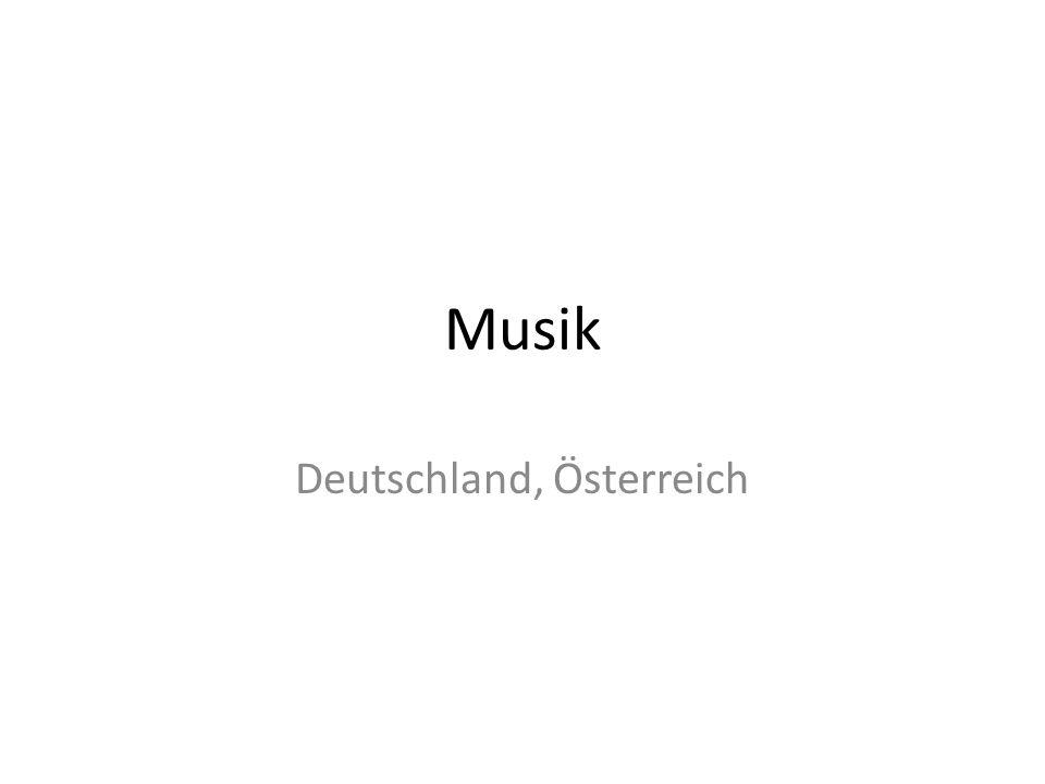 Musik Deutschland, Österreich