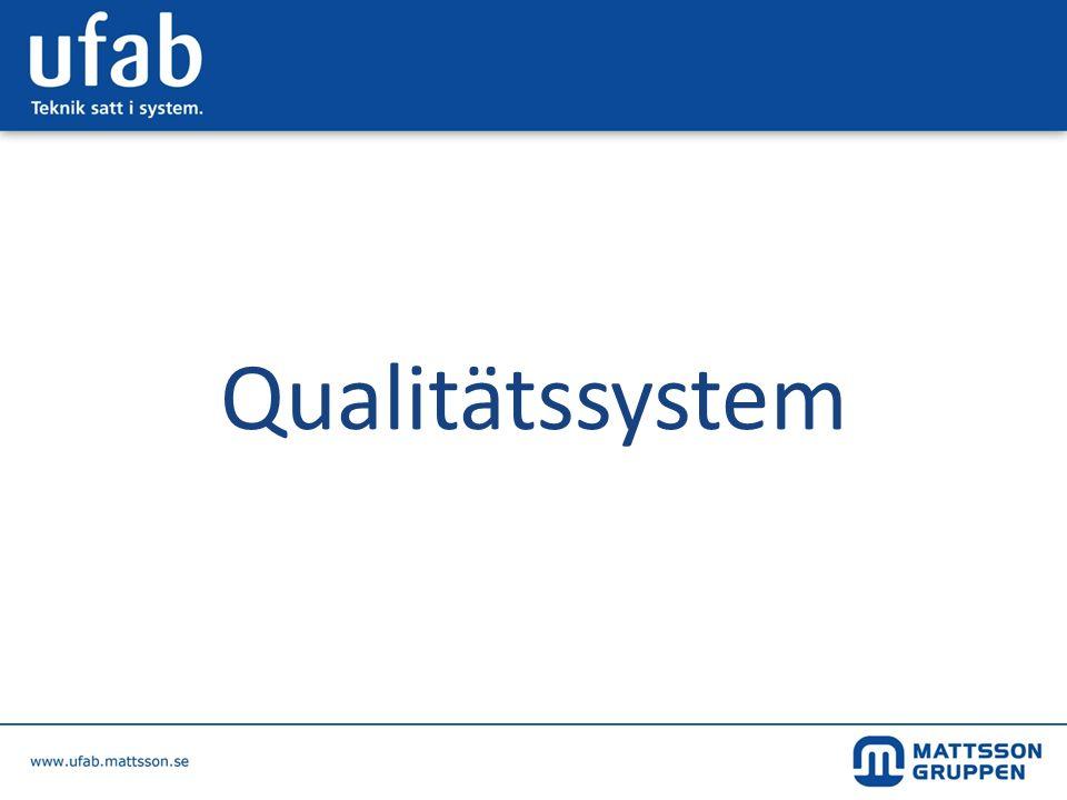 Qualitätssystem
