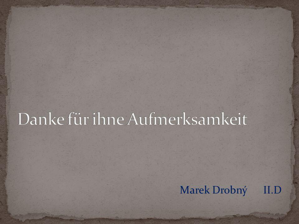 Marek Drobný II.D