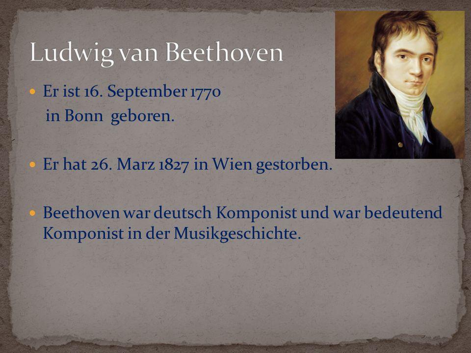 Ludwig war aus einer arme Familie.