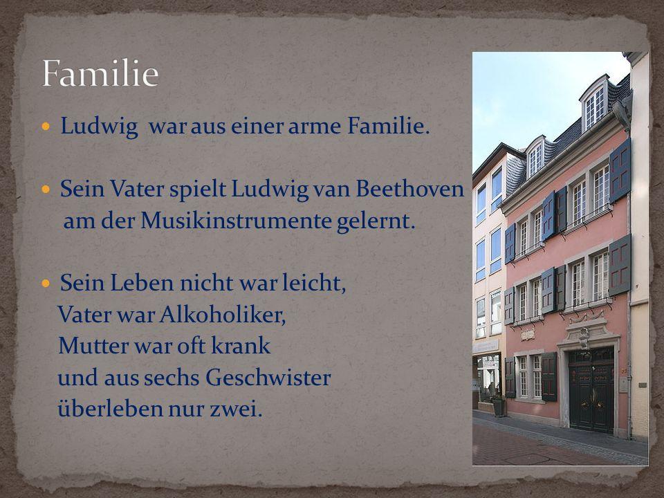 Im Jahr 1787 fahren Beethoven in Wien, weil er will in Wolfgang Amadeus Mozart studieren.