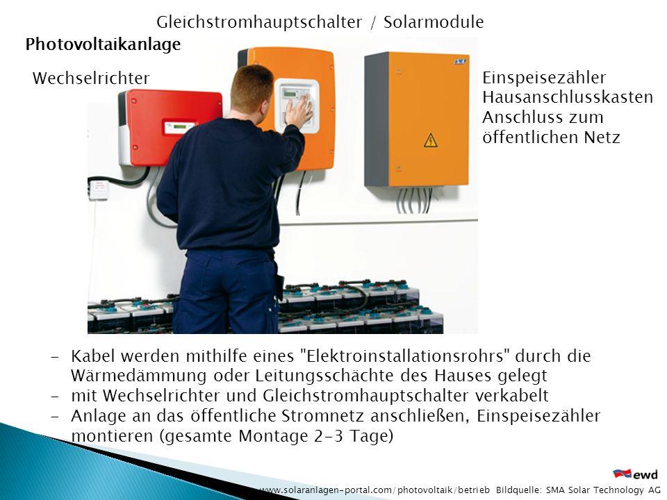 (1) Sonnenkollektor (2) Warmwasserspeicher (3) Wärmetauscher (4) Regelung und Steuerung (5) Ausgleichsbehälter (6) Zusatzheizung (Rücklauferhitzer) (7) Dusche, Badewanne, Waschbecken solaranlagen-portal.com Solaranlage