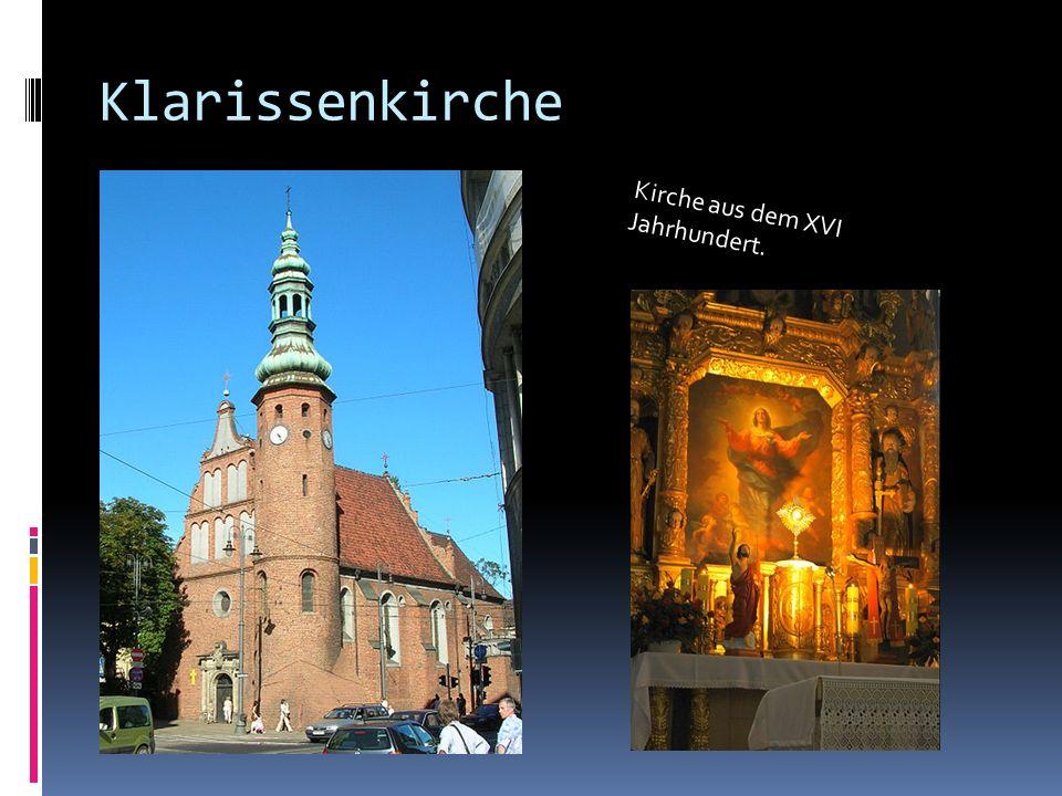 Klarissenkirche Kirche aus dem XVI Jahrhundert.