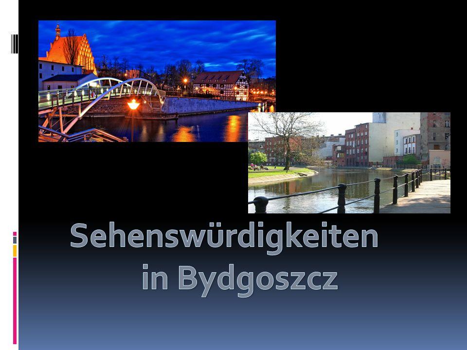 Mühleninsel und Bromberger Venedig Flussinsel in der Region Bydgoszcz Altstadt, auf einer Fläche von ca.