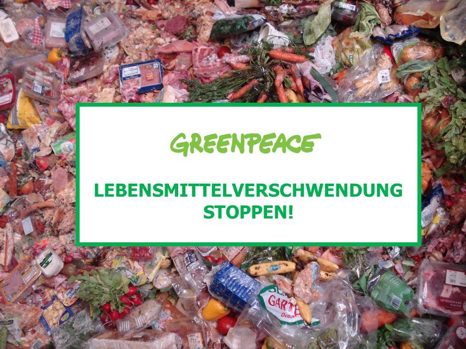 LEBENSMITTELVERSCHWENDUNG: IM EINZELHANDEL 14-50 kg pro Einwohner im Jahr werden im Einzelhandel verschwendet.