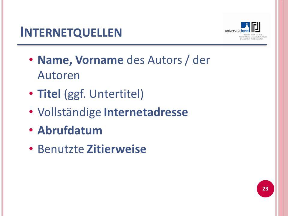 B EISPIEL 24 Messerle, Alexandra; Weingart, Stephan Altershöchstgrenze für Bürgermeister http://www.jurawelt.com/aufsaetze/oe r/7659 Abfruf vom 30.01.2006 (zit.: Messerle/Weingart, Altershöchstgrenze)