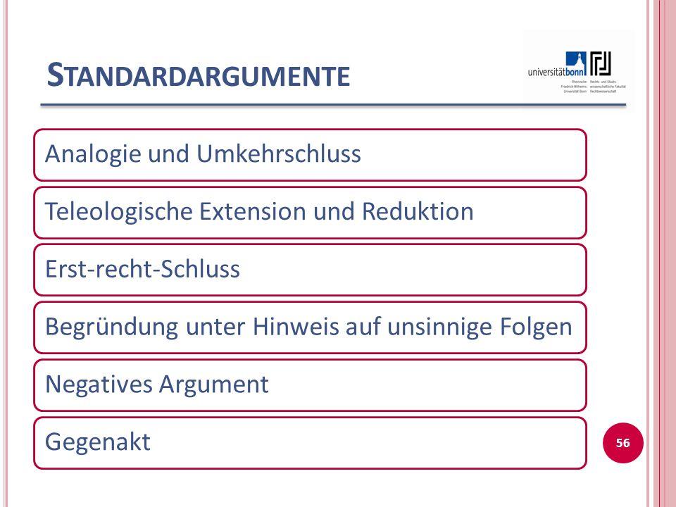 L ITERATURTIPP Thorsten Schmidt Grundlagen rechtswissenschaftlichen Arbeitens In: Juristische Schulung 2003, 551-556 und 649-654 57