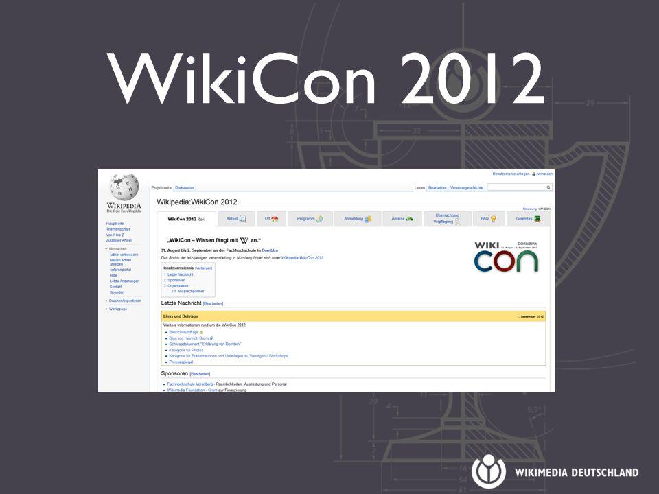 WikiCon 2012