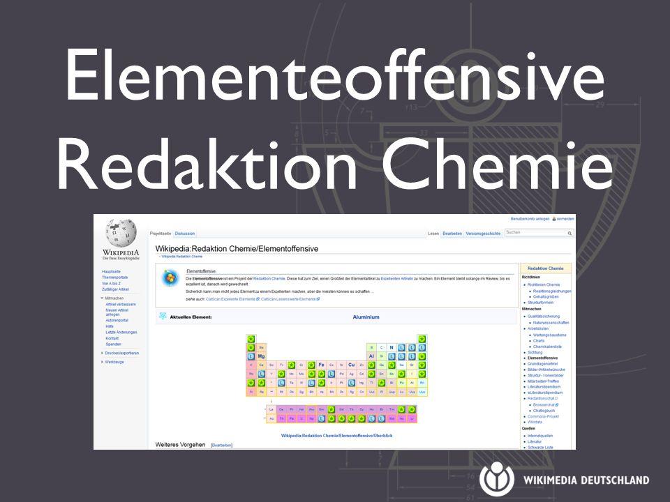 Elementeoffensive Redaktion Chemie