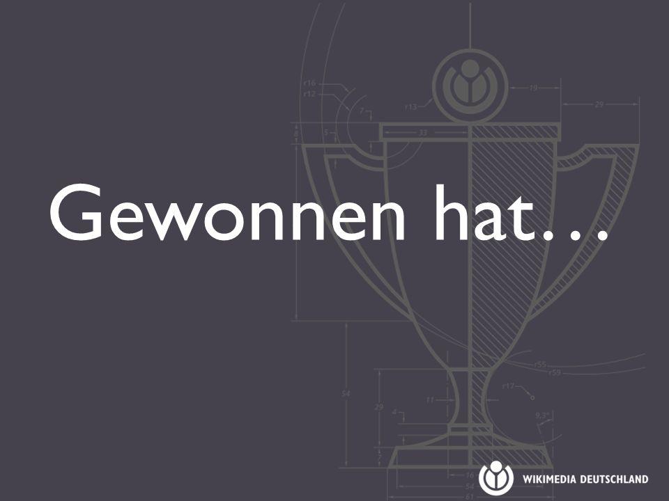 Gewonnen hat…