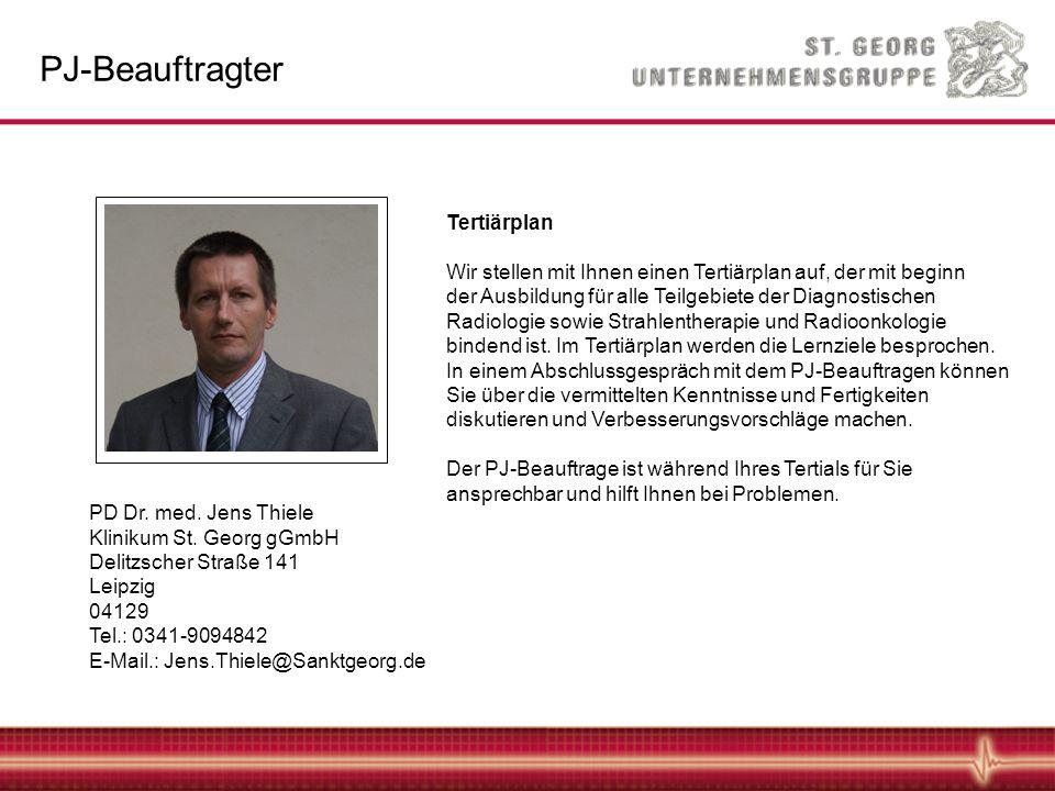 PD Dr.med. Jens Thiele Klinikum St.
