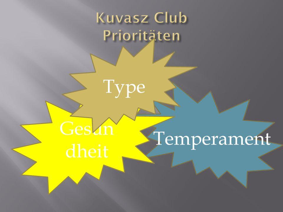 Gesun dheit Type Temperament