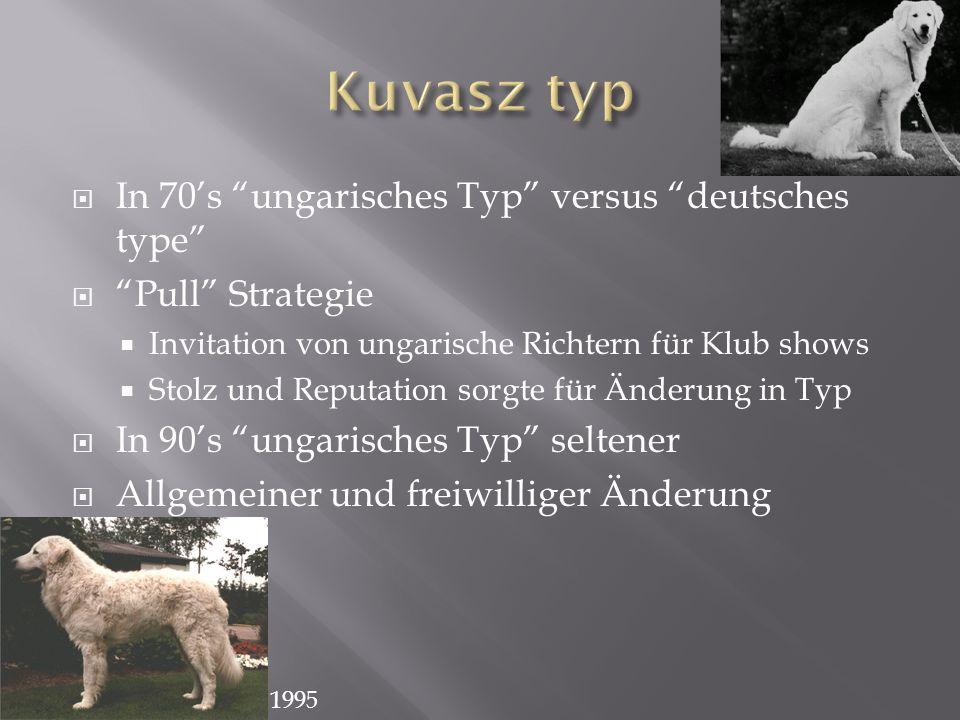 In 70s ungarisches Typ versus deutsches type Pull Strategie Invitation von ungarische Richtern für Klub shows Stolz und Reputation sorgte für Änderung