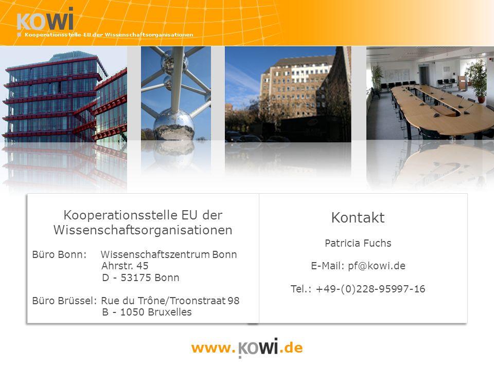 Kontakt Patricia Fuchs E-Mail: pf@kowi.de Tel.: +49-(0)228-95997-16 Kontakt Patricia Fuchs E-Mail: pf@kowi.de Tel.: +49-(0)228-95997-16 www..de Kooper
