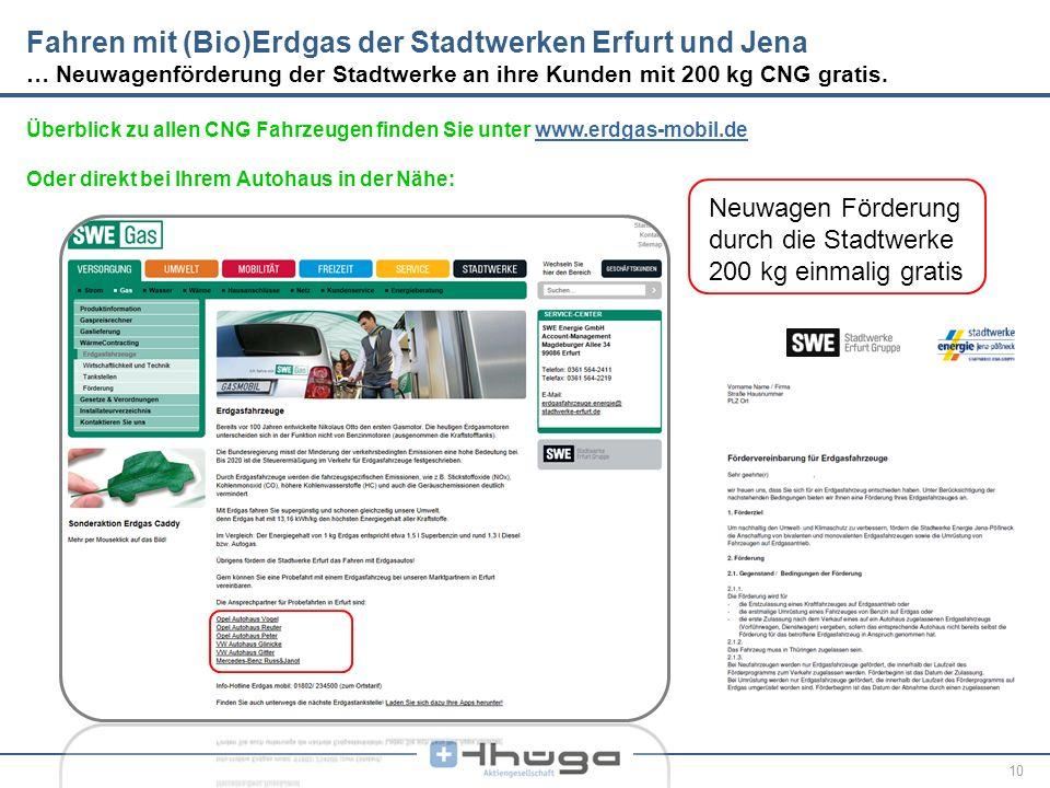 10 Überblick zu allen CNG Fahrzeugen finden Sie unter www.erdgas-mobil.dewww.erdgas-mobil.de Oder direkt bei Ihrem Autohaus in der Nähe: Fahren mit (B