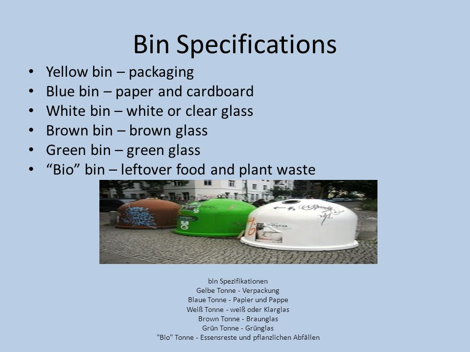 Federal Waste Management Policy In 1996 lawmakers in Germany passed the Closed Substance Cycle and Waste Management Act.