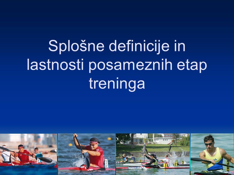 17.11.2007Seite 24 Splošne definicije in lastnosti posameznih etap treninga