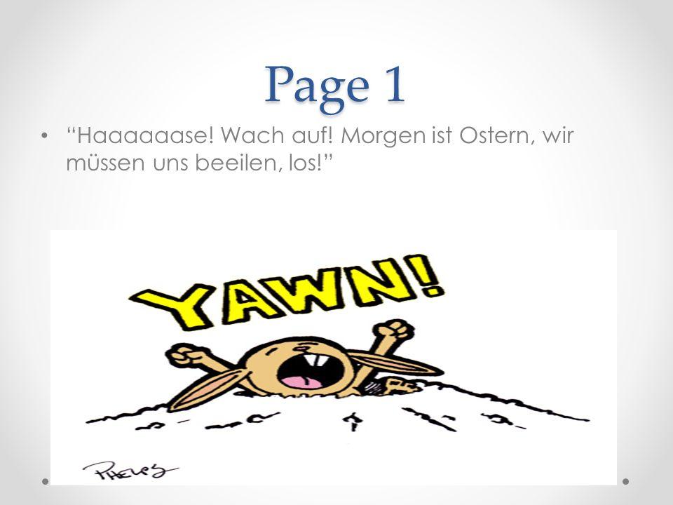 Page 2 Dieses Jahr sind die beiden wirklich spät dran.