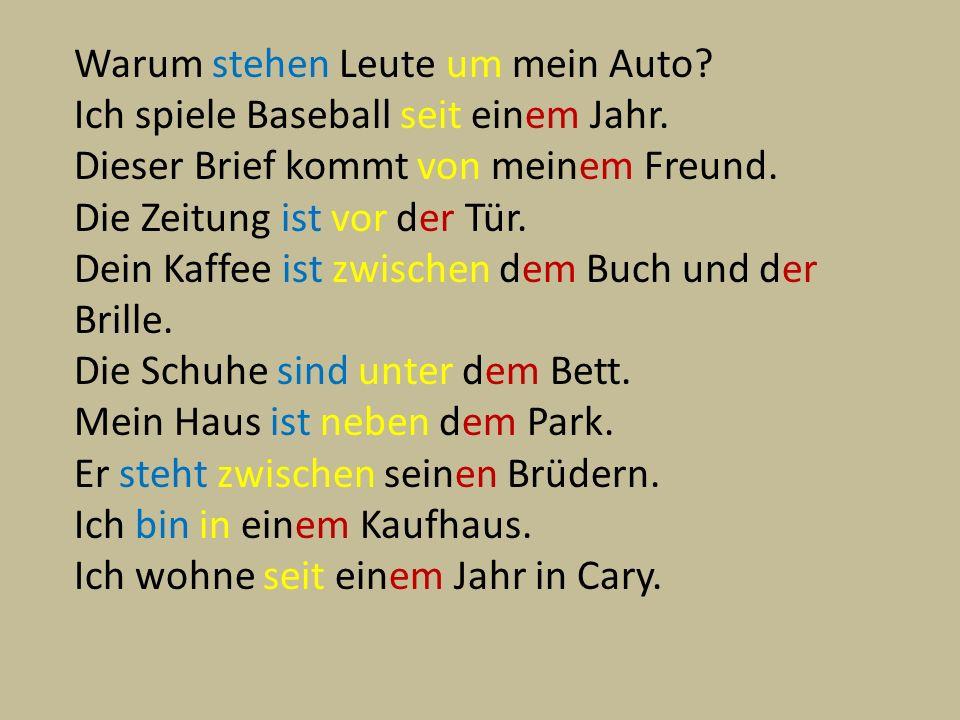 Adjectives after der words. 10. Dies___ gefuttert___ Anorak steht dir gut. ere
