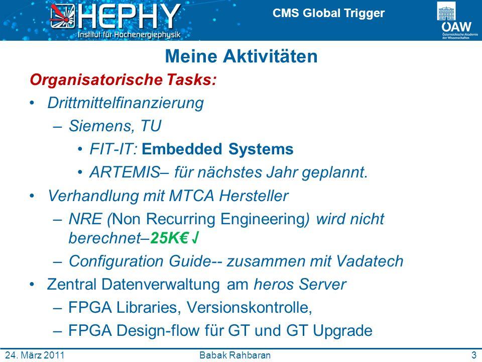 CMS Global Trigger 3Babak Rahbaran24.