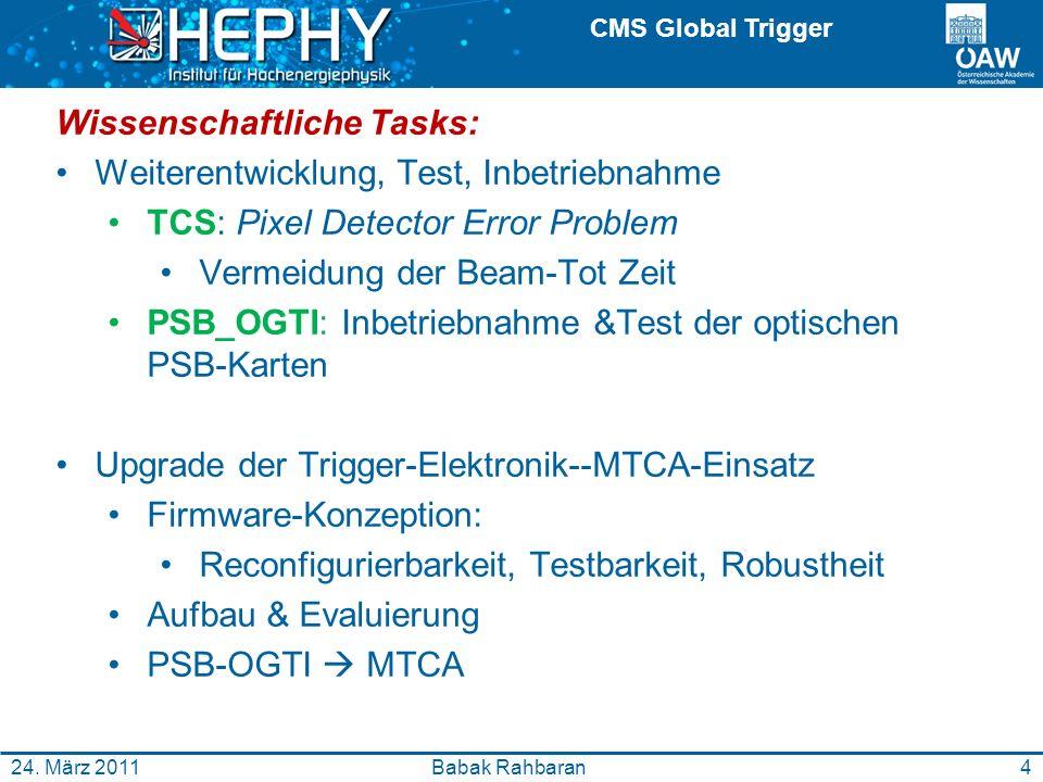 CMS Global Trigger Babak Rahbaran24.