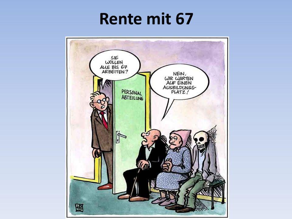 Rente mit 67