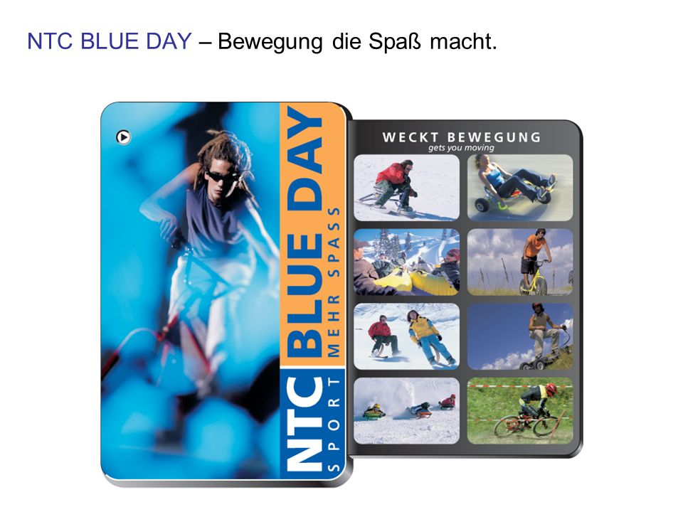 NTC BLUE DAY – Bewegung die Spaß macht.