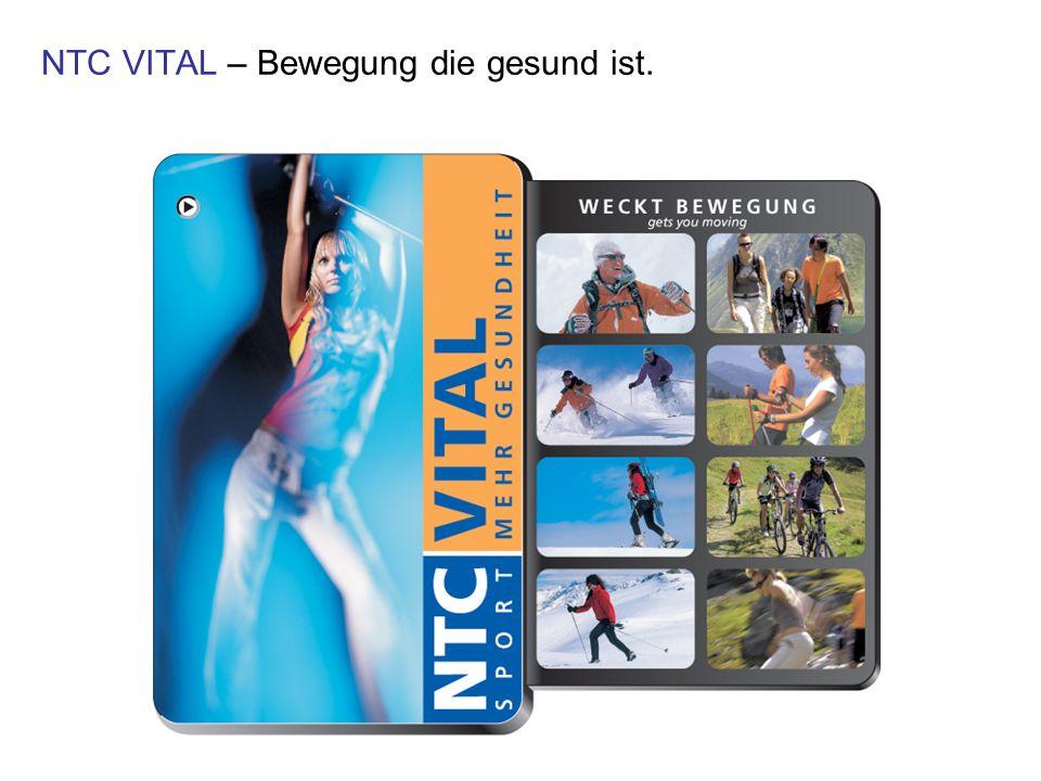 NTC VITAL – Bewegung die gesund ist.