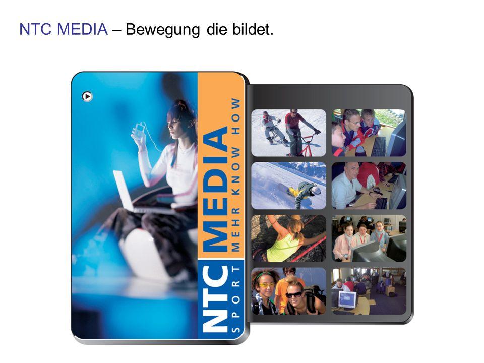 NTC MEDIA – Bewegung die bildet.