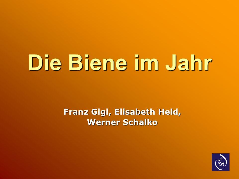 Die Biene im Jahr Franz Gigl, Elisabeth Held, Werner Schalko