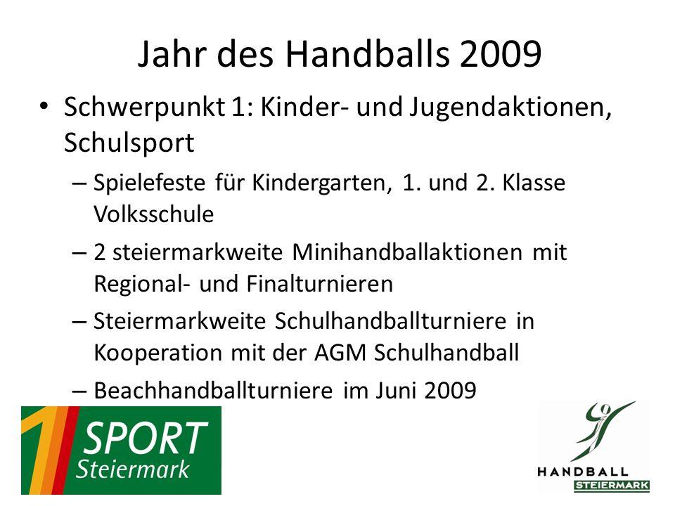 Schwerpunkt 1: Kinder- und Jugendaktionen, Schulsport – Spielefeste für Kindergarten, 1.