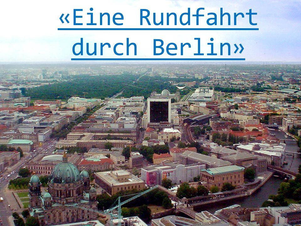 Der Kurfürstendamm Der Kurfürstendamm ist eine der größten und schönsten Straßen Berlins mit vielen eleganten Geschäften, Cafés und Restaurants.