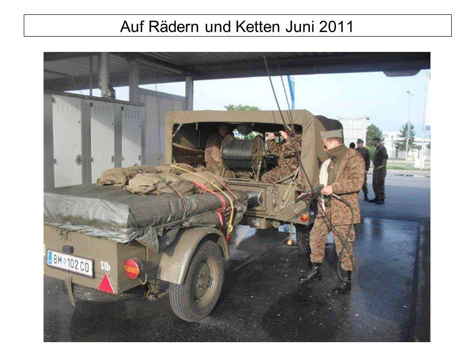 Auf Rädern und Ketten Juni 2011
