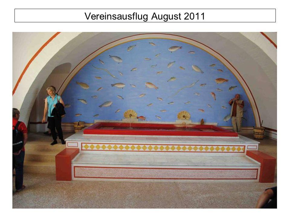 Vereinsausflug August 2011