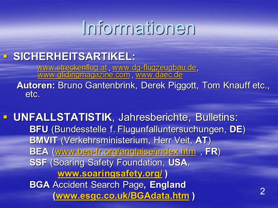 Bild 13: Vergleich BFE – Deutschland mit BEA – Frankreich : Unfälle mit leichten oder keinen Verletzungen : BFU BEA Landung (exklusive Strömungsabriss): 71% 80% Sonstiges: 29% 20% Summe: 100% 100%