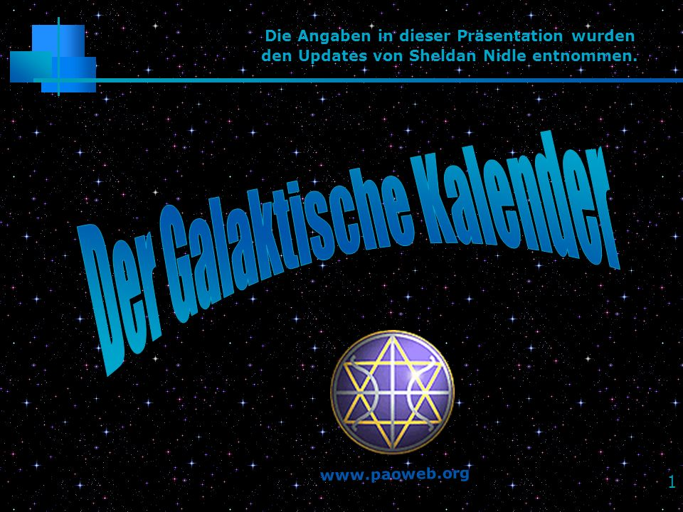 22 Rhythmus & Zeit Die Grundlage aller Schöpfung ist.
