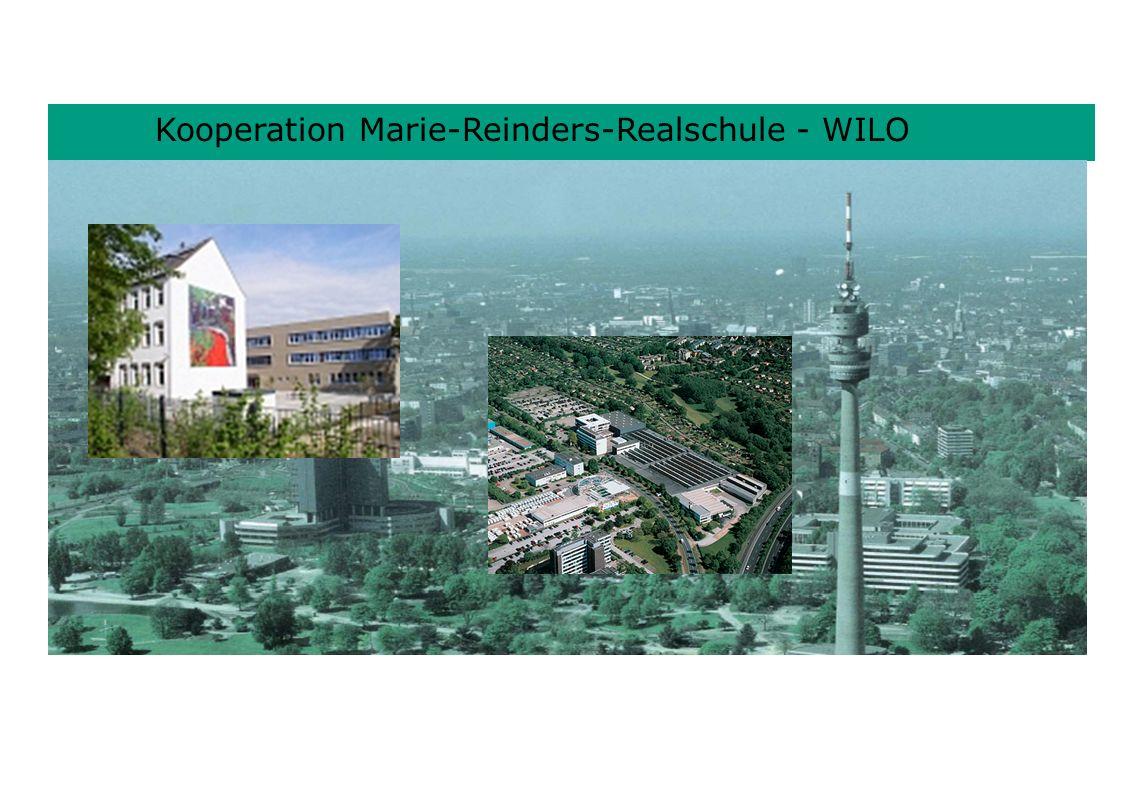 Kooperation Marie-Reinders-Realschule - WILO