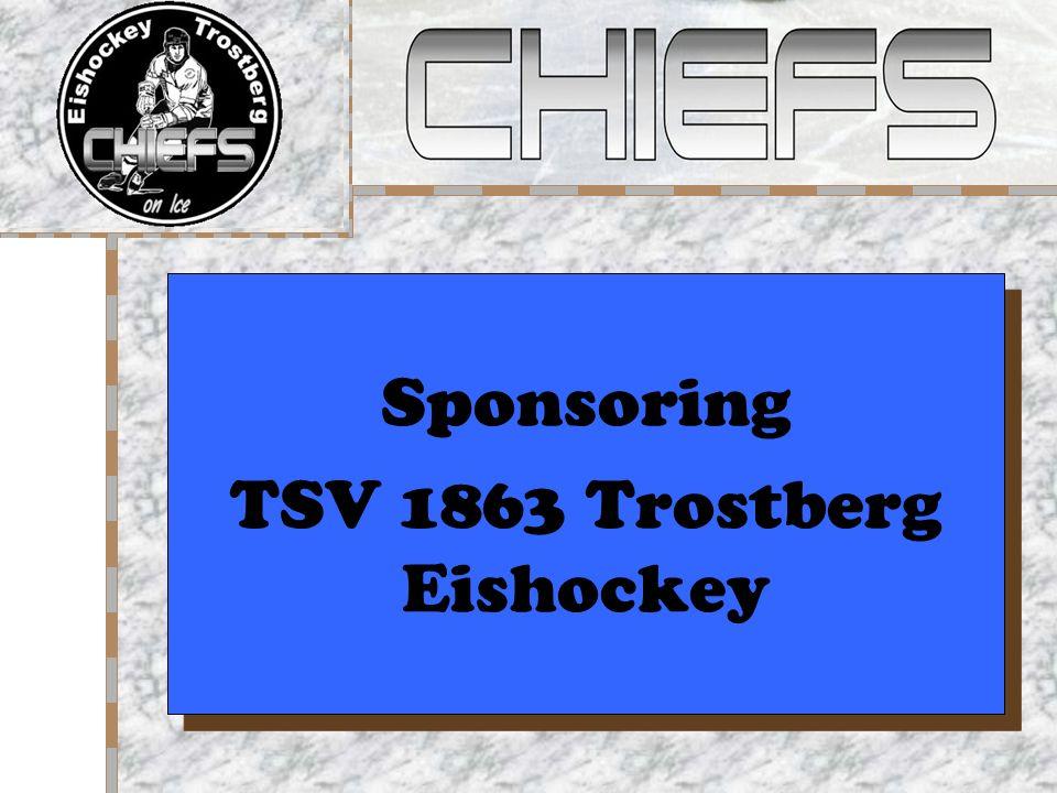 Sponsoring TSV 1863 Trostberg Eishockey Sponsoring TSV 1863 Trostberg Eishockey