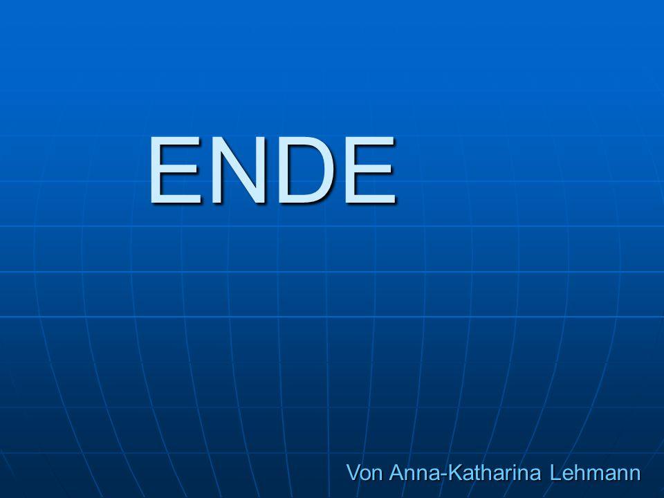 ENDE Von Anna-Katharina Lehmann
