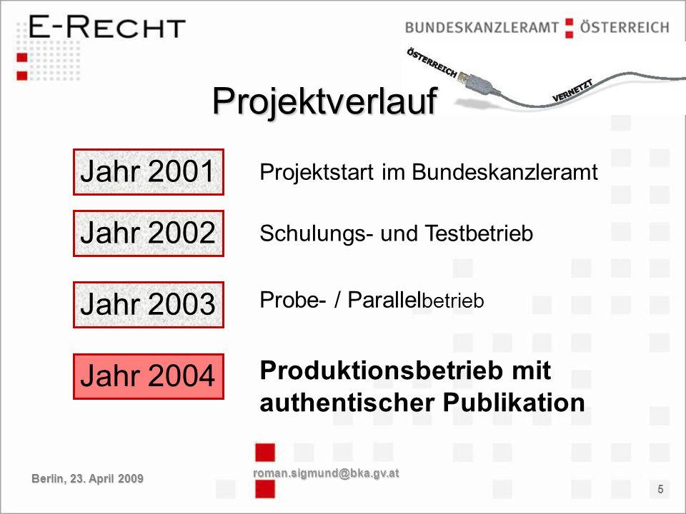 16 roman.sigmund@bka.gv.at Berlin, 23. April 2009